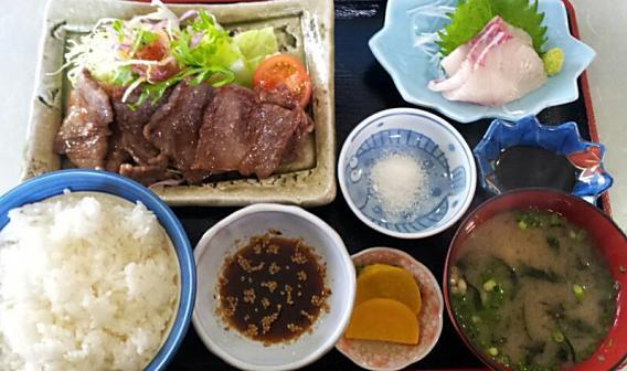 五島牛焼肉定食