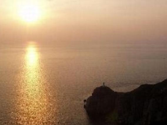 五島の夕焼け