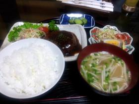 菜づ菜 ハンバーグ定食
