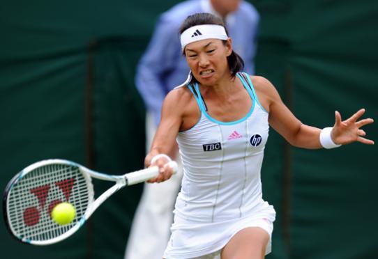 親指の痛み テニス女子