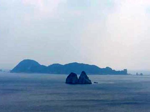 「キューピー島」「津多羅島」