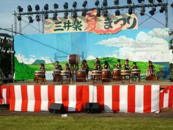 三井楽夏祭り